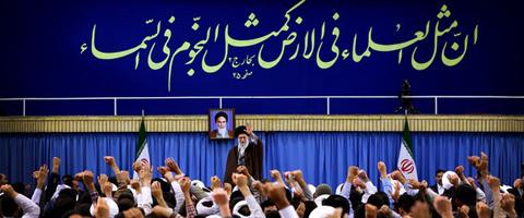 دیدار مدیران، مدرسان و طلاب حوزههای علمیه استان تهران با رهبر انقلاب