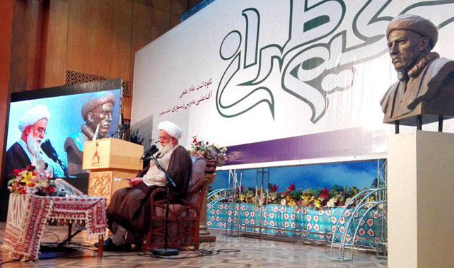انقلاب اسلامی ایران انفجار نور بود و مجمع عالی حکمت از برکات آن است