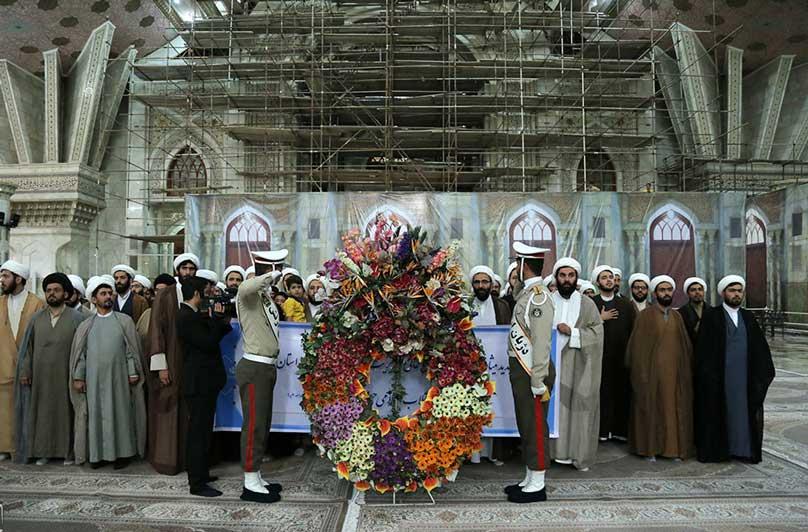 حوزه علمیه تهران با آرمان های امام راحل تجدید میثاق کردند