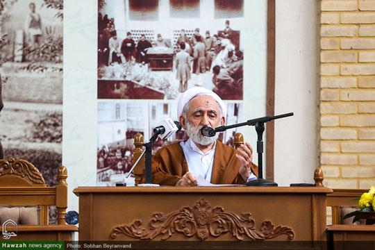 آیت الله استادی:  شهید مدرس در بعد علمی، عرفانی و عبادی هم ردیف مراجع زمان خود بود