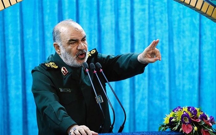 سرلشکر سلامی: اجازه ورود دشمن به ایران را نمیدهیم