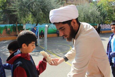 به همت مبلغان طرح امین تهران: موکب دانش آموزی امام رضا(ع) برگزار شد+ عکس